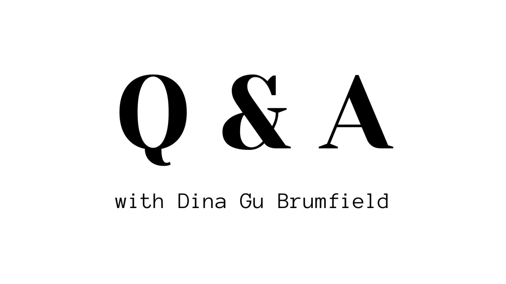 Author Spotlight: Q and A with Dina Gu Brumfield, Author