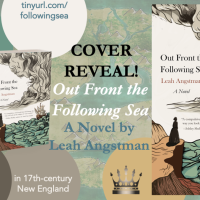 Cover Reveal! 'Out Front the Following Sea' by @LeahAngstman @HFVBT @RegalHouse1 #FollowingSea #CoverReveal